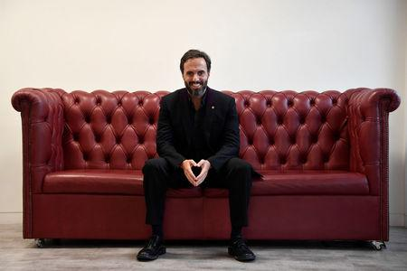 Jose Naves CEO of online fashion house Farfetch poses for a portrait at the company headquarters in London, Britain January 31, 2018. REUTERS/Toby Melville