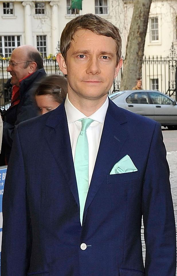 """<a href=""""http://movies.yahoo.com/movie/contributor/1804894159"""">Martin Freeman</a> - Bilbo Baggins    Freeman nabbed one of hottest roles in Hollywood, playing the titular Hobbit. You might have seen him previously in """"<a href=""""http://movies.yahoo.com/movie/1808411970/info"""">The Hitchhikers Guide to the Galaxy</a>,"""" """"<a href=""""http://movies.yahoo.com/movie/1809425690/info"""">Hot Fuzz</a>"""" and the UK version of """"The Office."""""""