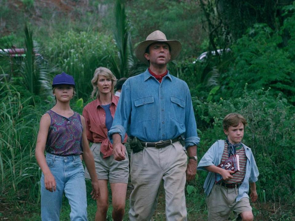 'Jurassic Park', released in 1993, remains one of the biggest blockbusters of all time: Universal Pictures