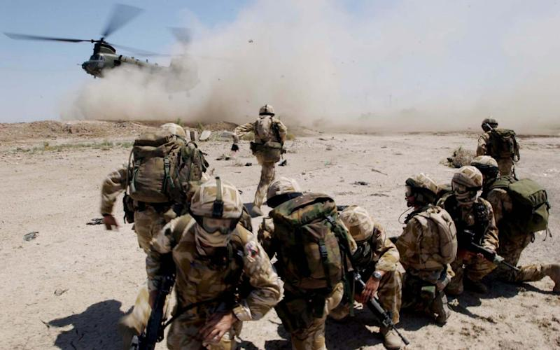 British Army soldiers in Iraq - Getty Images Europe