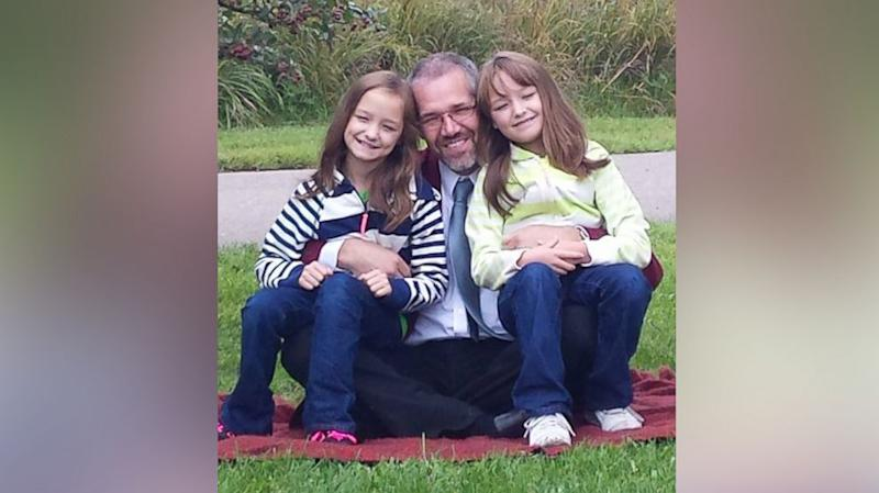 9-Year-Old Twin Sisters Dance With Bone Marrow Donor Who Saved Them