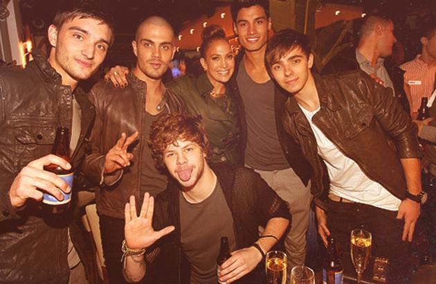 Celebrity photos: The Wanted have been in America for some time now and it seems that they're loving their new A-List friends. Jay McGuinness from the band tweeted this picture of them hanging out with Jennifer Lopez.