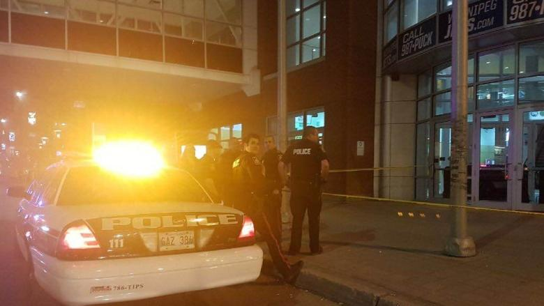 3 taken to hospital after fight at MTS Centre