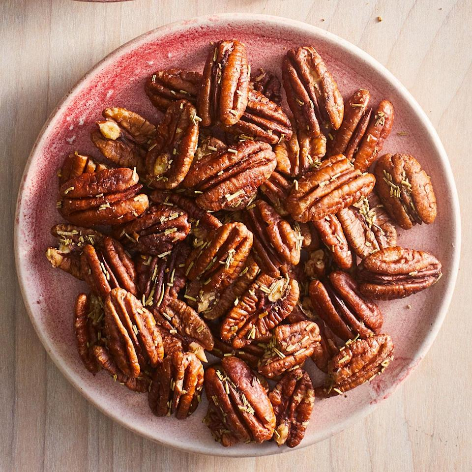 <p>These savory spiced nuts are perfect for snacking, adding to a cheese board or serving as a mini appetizer.</p>