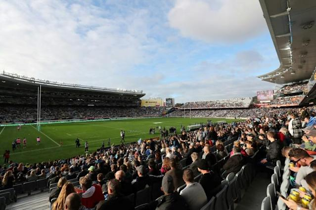 Super Rugby returned in New Zealand over the weekend, but the global calendar is proving tougher to reboot (AFP Photo/MICHAEL BRADLEY)