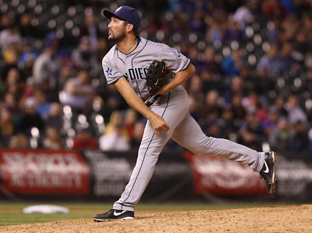 Padres closer Huston Street accepts reality of baseball's trade game