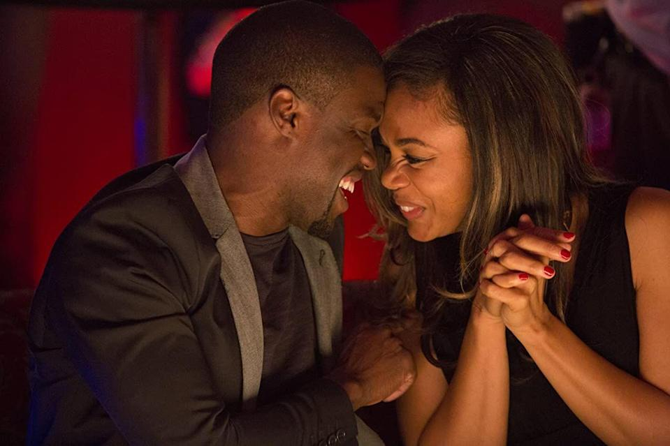 "<p><strong>Cast: </strong>Michael Ealy, Kevin Hart, Regina Hall, Joy Bryant</p><p>One night, Danny (Ealy) meets successful businesswoman Debbie (Bryant), and they have an instant connection. But despite being cautious when it comes to love, the two want to make it work. At the same time, their best friends are strongly against commitment—while simultaneously falling for each other, too.</p><p><a class=""link rapid-noclick-resp"" href=""https://www.amazon.com/gp/video/detail/B00JS6AUYI/ref=atv_dl_rdr?tag=syn-yahoo-20&ascsubtag=%5Bartid%7C10072.g.34125298%5Bsrc%7Cyahoo-us"" rel=""nofollow noopener"" target=""_blank"" data-ylk=""slk:WATCH NOW"">WATCH NOW</a></p>"