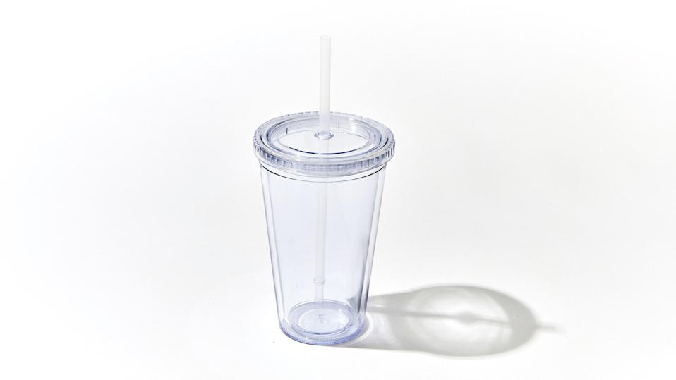 """$18, Amazon (Pack of 4). <a href=""""https://www.amazon.com/Classic-Insulated-Tumblers-Double-Acrylic/dp/B06XKD66S6"""" rel=""""nofollow noopener"""" target=""""_blank"""" data-ylk=""""slk:Buy Now"""" class=""""link rapid-noclick-resp"""">Buy Now</a><br>"""
