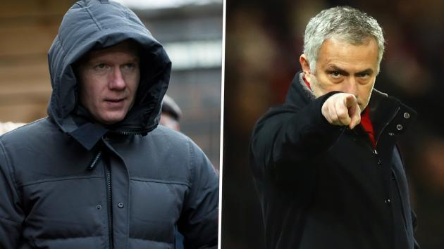 <p>Scholes savages 'insipid' Man Utd and Mourinho's tactics</p>
