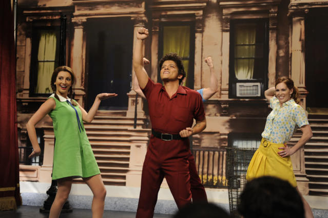 "Bruno Mars hosts the fifth episode of ""Saturday Night Live"" Season 38."