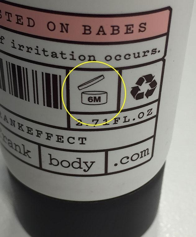 The PAO symbol is your saviour when it comes to knowing when to bin your beauty products.