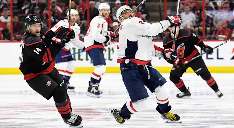 85545f65785 Capitals  Alex Ovechkin robbed of tying goal