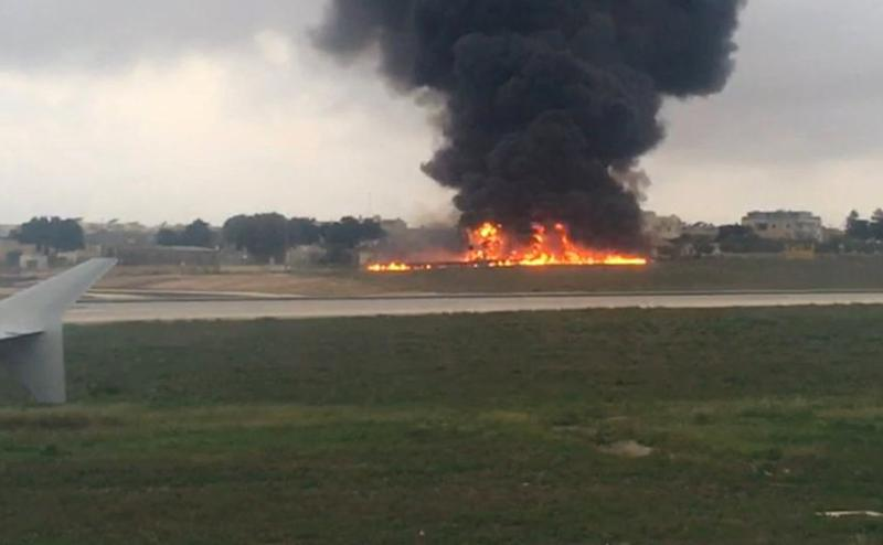Five die in light aircraft inferno in Malta