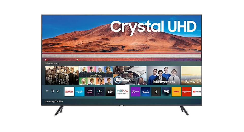 Samsung (2020) HDR 4K Ultra HD Smart TV, 50 inch with TVPlus