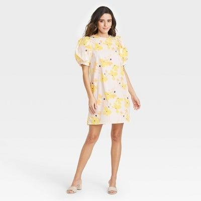 <p>You'll be the best dressed in the room in this <span>A New Day Puff Short Sleeve Dress</span> ($25).</p>