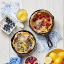 """<p>The perfect Mother's Day brunch dessert, top these fluffy pancakes with fresh fruit for a sweet finish.</p><p><em><a href=""""https://www.womansday.com/food-recipes/a32291688/dutch-babies-recipe/"""" rel=""""nofollow noopener"""" target=""""_blank"""" data-ylk=""""slk:Get the recipe for Dutch Babies."""" class=""""link rapid-noclick-resp"""">Get the recipe for Dutch Babies.</a></em></p>"""