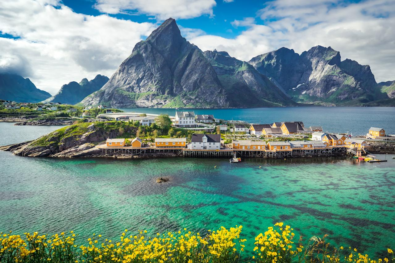 """As if we needed more proof that Scandinavia slays in the health department, Norway makes its debut in this year's list thanks to <a href=""""http://www.oecdbetterlifeindex.org/countries/norway/"""" target=""""_blank"""">clean air and water</a>, high life expectancies (83 years), and low homicide rates (0.4 percent, compared to the world average of 3.7). We suspect the country's <a href=""""https://www.cntraveler.com/gallery/photos-that-will-make-you-want-to-visit-norway?mbid=synd_yahoo_rss"""" target=""""_blank"""">jaw-dropping landscapes</a> might improve life a little bit, too."""
