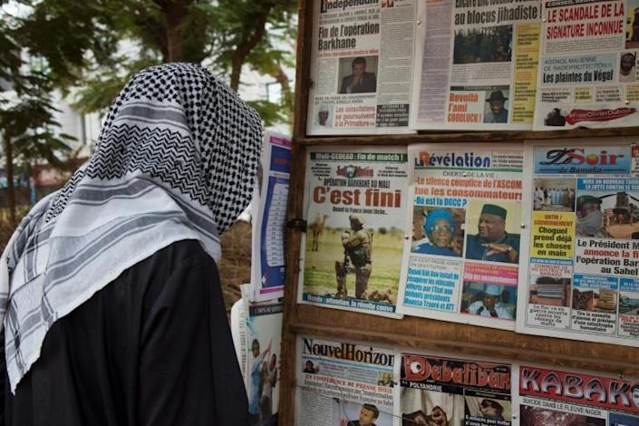 Bamako news headlines on Friday announced the end of the French Barkhane deployment