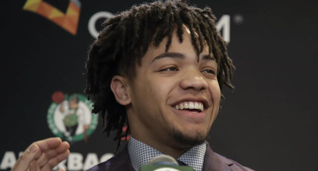 Celtics rookie Carsen Edwards has earned the Kendrick Perkins stamp of approval.