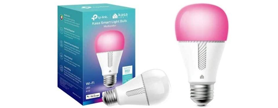 Kasa Smart Bulb, Full Color Changing Dimmable WiFi LED