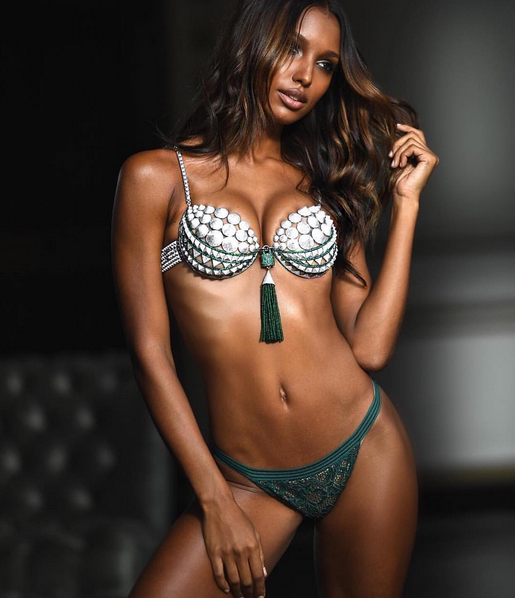 Photo: Instagram/Jasmine Tookes via Victoria's Secret