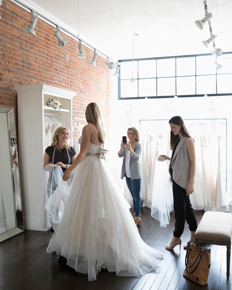 How Late Is Too Late to Start Wedding Dress Shopping?