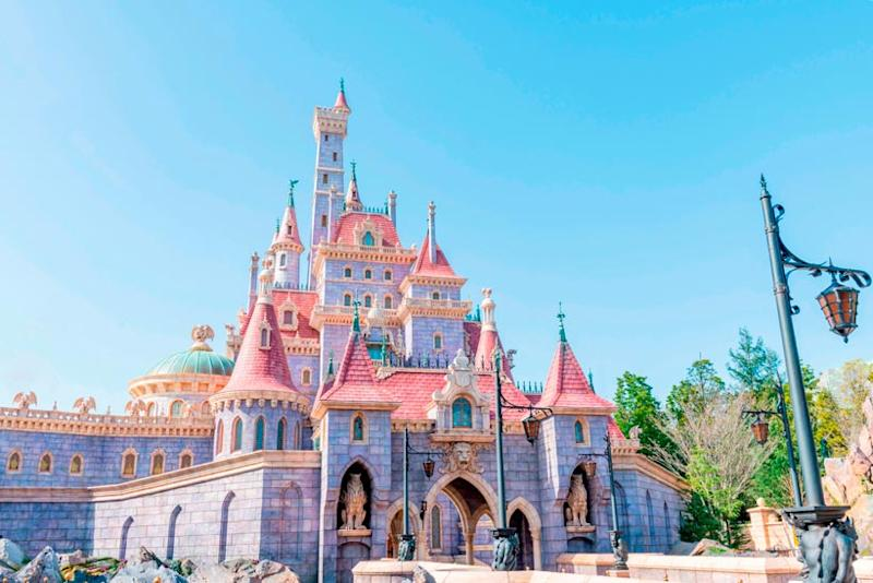 The castle in the Beauty And The Beast section at Fantasyland in Tokyo Disneyland, opening on 28 September 2020. (Photo: Tokyo Disneyland)