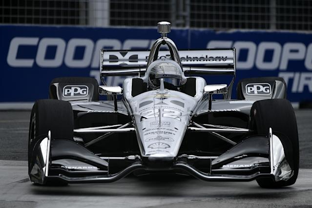 Pagenaud tops practice for IndyCar Toronto