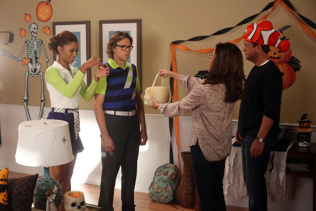 "<p class=""MsoNormal""><b>""The Neighbors""</b> -- ""Halloween-ween""<br> Wednesday, 10/24 at 8:30 PM on ABC<br> <br> The Weavers are excited about their first Halloween in the suburbs, but the aliens have viewed the holiday as a threat. Can Marty and Debbie sell the idea of trick-or-treating to the Zabvronians?</p>"