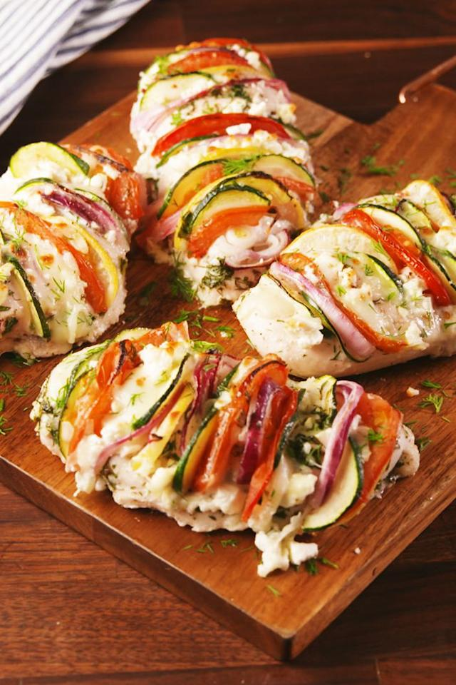 "<p>You'll Greek out over this.</p><p>Get the recipe from <a rel=""nofollow"" href=""http://www.delish.com/cooking/recipe-ideas/recipes/a57364/greek-stuffed-chicken-recipe/"">Delish</a>.</p><p><strong><em>BUY NOW: Pairing Knives, $22.10, <a rel=""nofollow"" href=""http://aax-us-east.amazon-adsystem.com/x/c/QpSrdg7fEsSraBxV-d50eGsAAAFge7Q3-wEAAAFKATLxtbo/https://www.amazon.com/Kuhn-Rikon-4-Inch-Nonstick-Colori/dp/B0030XNLQ4/ref=as_at/?creativeASIN=B0030XNLQ4&linkCode=w61&imprToken=FJMQcATp0ht1dbiwtXUkog&slotNum=0&s=home-garden&ie=UTF8&qid=1513806071&sr=1-10-spons&keywords=pairing+knives+kuhn+rikon&psc=1&tag=delish_auto-append-20&ascsubtag=[artid