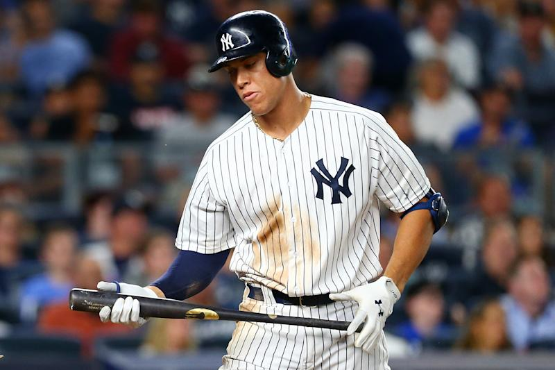 Aaron Judge Breaks MLB Record By Striking Out in 33rd Consecutive Game