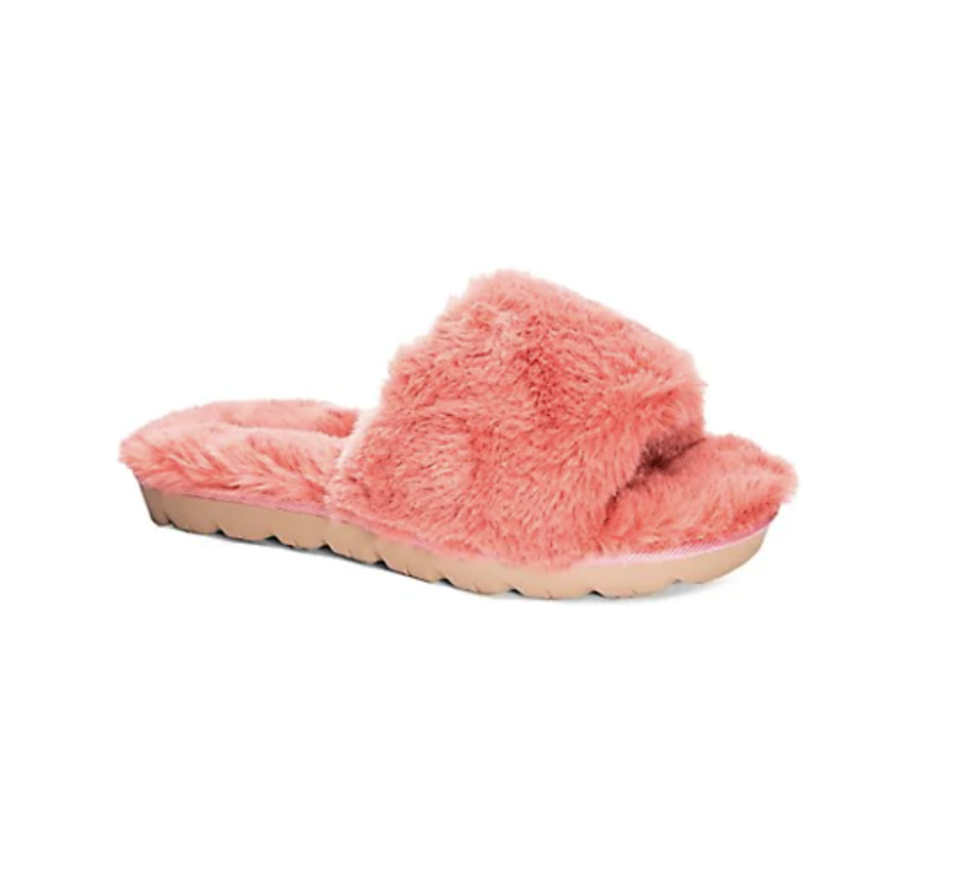 Chinese Laundry Rally Faux Fur Slides - The Bay, $40