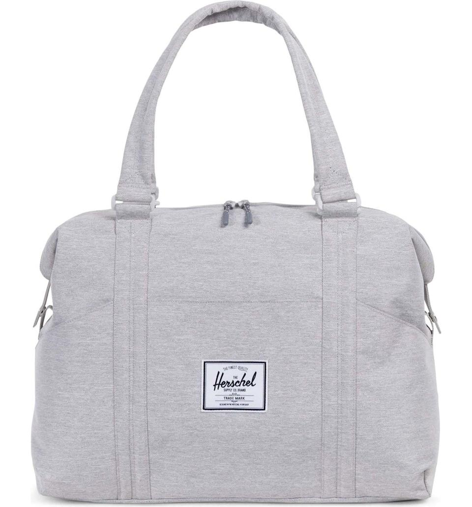 Lightweight in a hard-wearing fabric. Adjustable straps make it easy to carry.