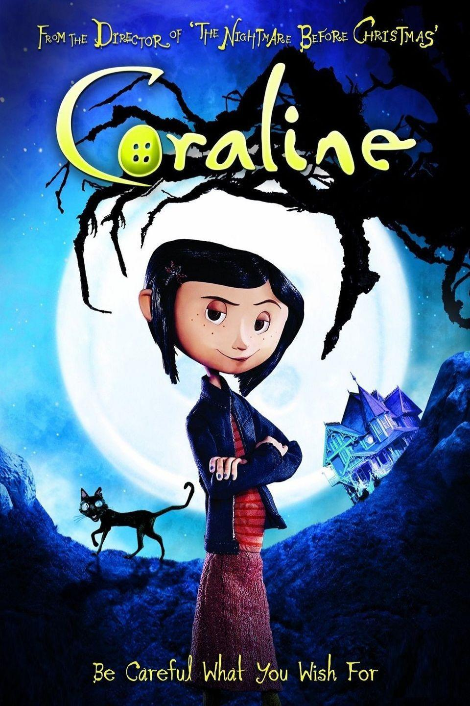 """<p>Coraline spends a lot of time alone at home after her parents move from Michigan to Oregon. It is in her new house that discovers the Other World, which includes Other Mother and Other Father, who spend more time with her than her own parents. When Coraline realizes, though, that the Other World is not as it seems, she must attempt to make her way back home to her real parents. </p><p><a class=""""link rapid-noclick-resp"""" href=""""https://www.amazon.com/Coraline-Dakota-Fanning/dp/B089DV39D2/?tag=syn-yahoo-20&ascsubtag=%5Bartid%7C10065.g.29354714%5Bsrc%7Cyahoo-us"""" rel=""""nofollow noopener"""" target=""""_blank"""" data-ylk=""""slk:Watch Now"""">Watch Now</a></p>"""