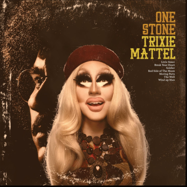 Trixie Mattel's <em>One Stone</em> album cover.