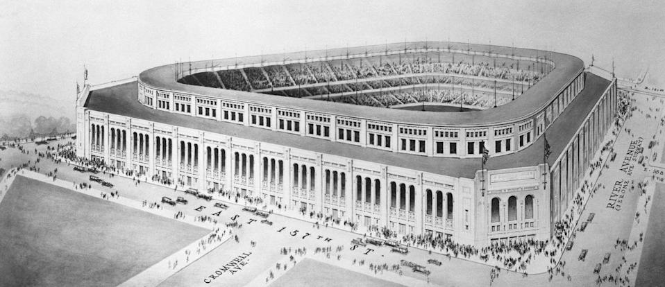 <p>Only one year after construction broke ground on the new Yankee Stadium the arena opened up to the public on April 18, 1923. </p>