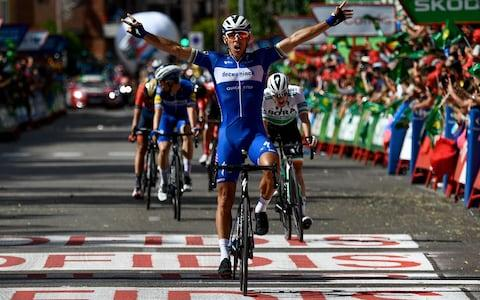 Philippe Gilbert -What were the most memorable bike races of 2019? Nicholas Roche, Sean Yates, Giulio Ciccone, Simon Gerrans and Mat Hayman have their say - Credit: Getty Images