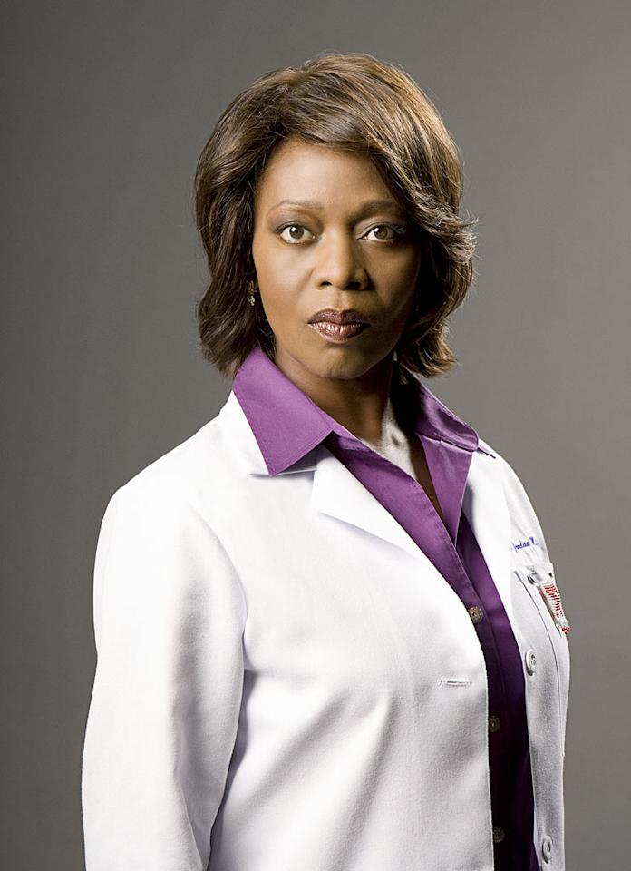 "Alfre Woodard stars as Dr. Sophia Jordan on ""Three Rivers."""
