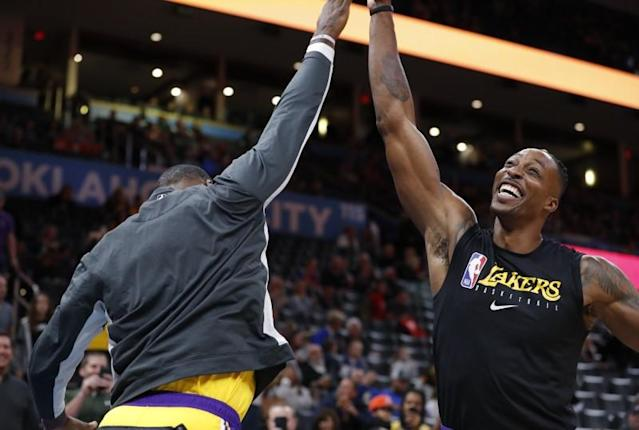 NBA: Los Angeles Lakers at Oklahoma City Thunder