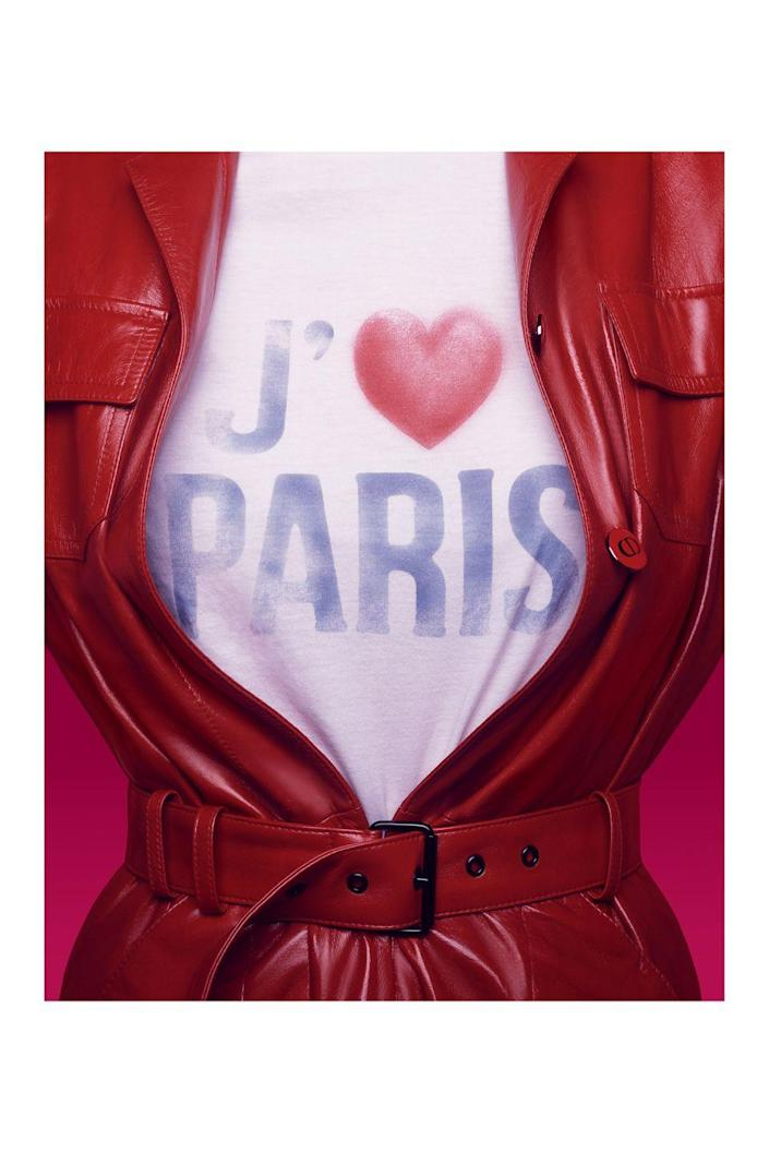 <p>Maria Grazia Chiuri wrote a love letter to Paris for Pre-Fall 21. Inspired by a host of creatives, including designer Elio Fiorucci, Andy Warhol, and Renaissance painters like Paolo Uccello and Mizza Bricard, the results are pure Parisian Dior—from leopard prints, to the famed Barr jacket, logo track suits, and joie de vivre to spare. </p>
