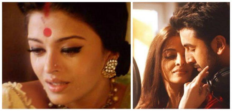 <p>(Left) Aishwarya Rai as Paro in Devdas (2002). (Right) Ash sharing the screen with Ranbir Kapoor in Ae Dil Hai Mushkil (2016). Much has been said about the timeless beauty's enigmatic appeal, and her value hasn't diminished at all despite the surge of young talents. From Salman to Hrithik and Ranbir, Ash just looks amazing with almost any heroes regardless of age.</p>