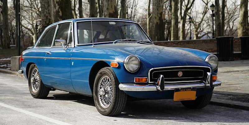 This 1972 Mgb Gt Is A Beautiful Affordable Classic