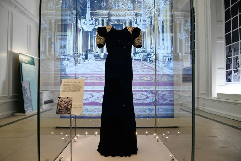 The exhibition also showcases the long-standing relationship between designer Norman Hartnell and the Queen Mother and Queen Elizabeth II