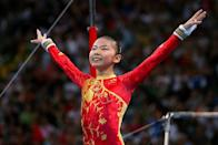 """<p>Speculations about the ages of three Chinese gymnasts, Jiang Yuyuan, Yang Yilin and He Kexin, ran rampant at the 2008 games. Their youthful appearances ultimately sparked <a href=""""https://www.huffpost.com/entry/scandal-of-the-ages-docum_b_118842"""" data-ylk=""""slk:a New York Times investigation focusing on Kexin, whose birth records indicated she was just 14 at the time of the competition"""" class=""""link rapid-noclick-resp"""">a <em>New York Times </em>investigation focusing on Kexin, whose birth records indicated she was just 14 at the time of the competition</a>.</p>"""