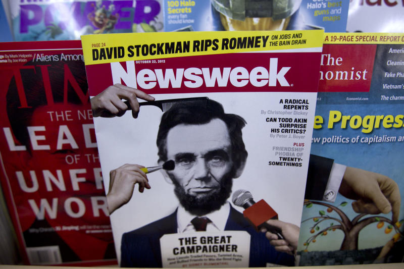 Newsweek had unique troubles as industry recovers