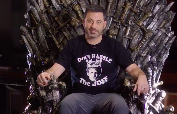 Sorry, No New 'Game of Thrones' Footage in This Promo – Just Celeb Superfans Sitting on the Throne (Video)