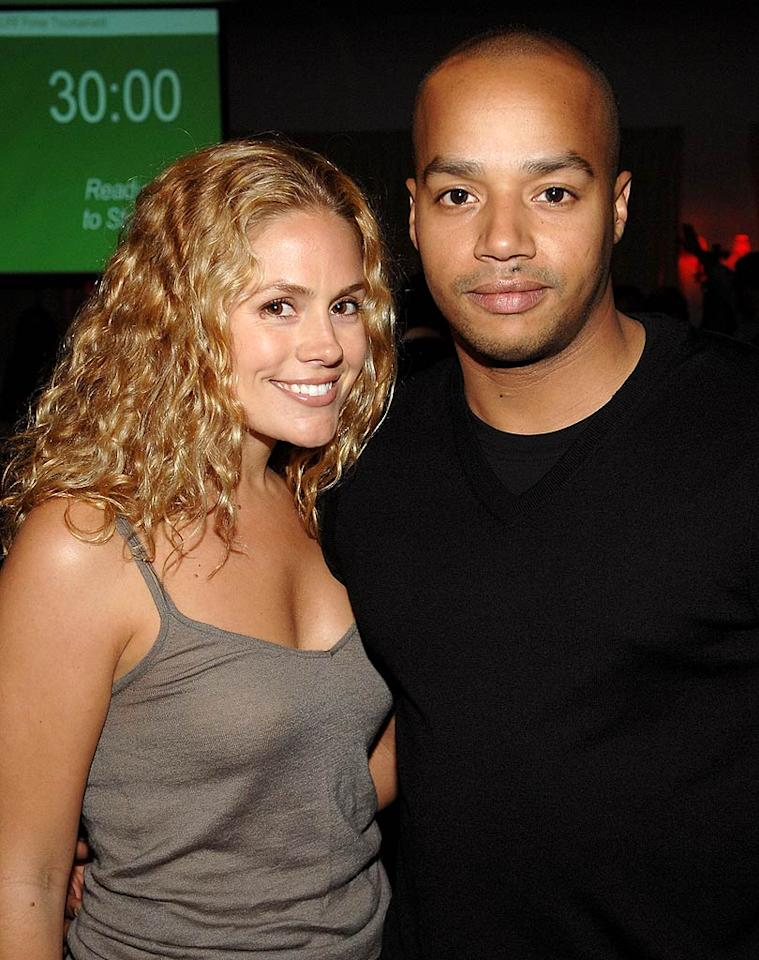"Another ""Scrubs"" star, Donald Faison makes the scene with his girlfriend and Jessica Simpson's former assistant, CaCee Cobb. John Shearer/<a href=""http://www.wireimage.com"" target=""new"">WireImage.com</a> - May 8, 2008"