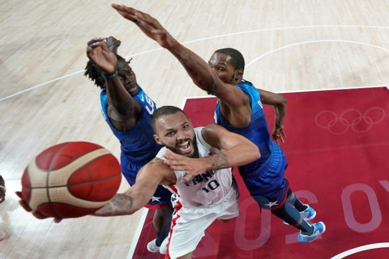 Evan Fournier's 28 points were crucial in France's shock win over the Americans