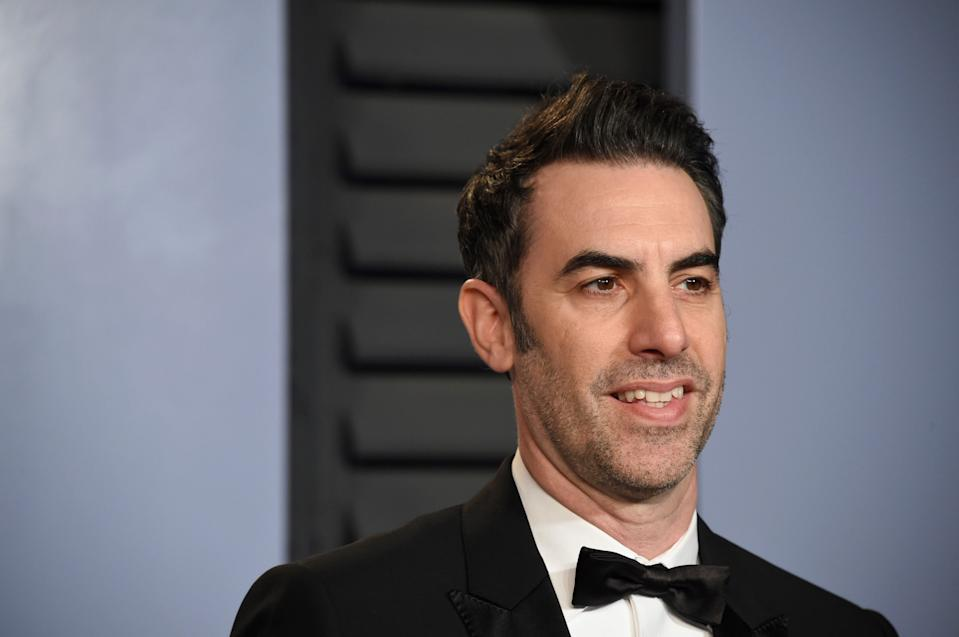 """Borat Subsequent Moviefilm"" creator and star Sacha Baron Cohen."