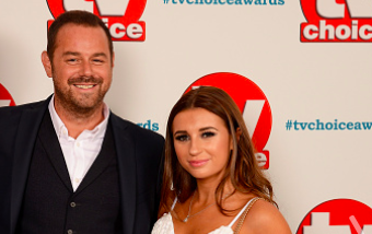 Danny Dyer and Dani Dyer attend the TV Choice Awards at The Dorchester on September 10, 2018 in London, England. (Photo by Dave J Hogan/Dave J Hogan/Getty Images)